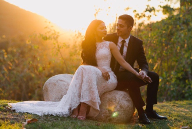 Pasadena-California-Golden-Hour-Sunset-Bride-Groom-Romantic.jpg