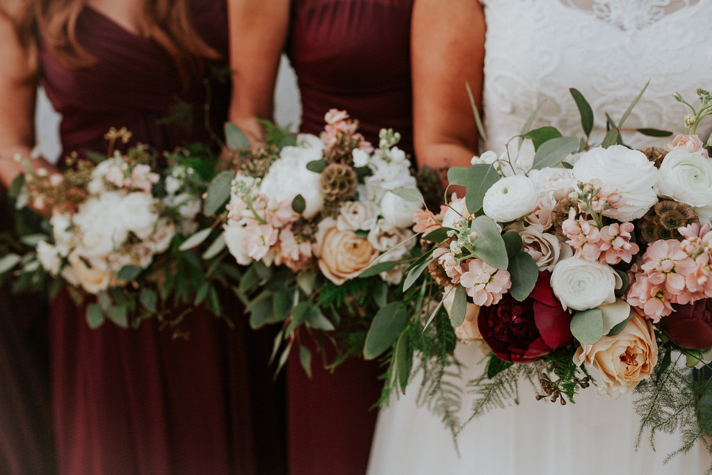 Santa-Ana-California-Romantic-Burgundy-Bridal-Party-Bouquets.jpg