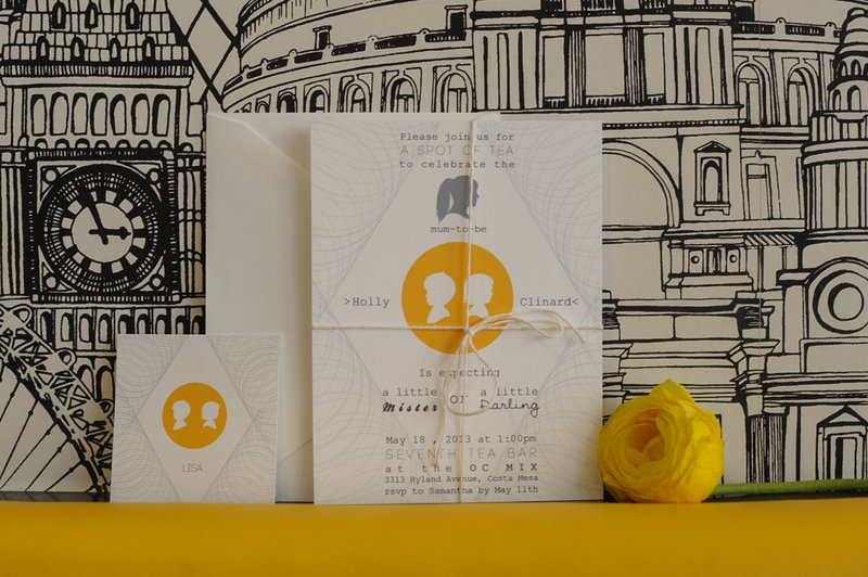 Orange-County-California-Modern-London-Tea-Baby-Shower-Bright-Yellow-Silhouette-Invitation-Suite.jpg