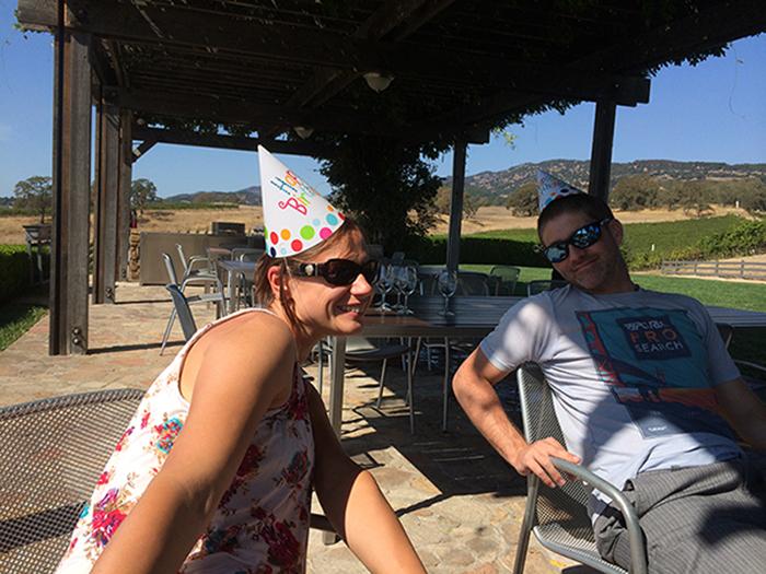 Sonoma for a birthday bash