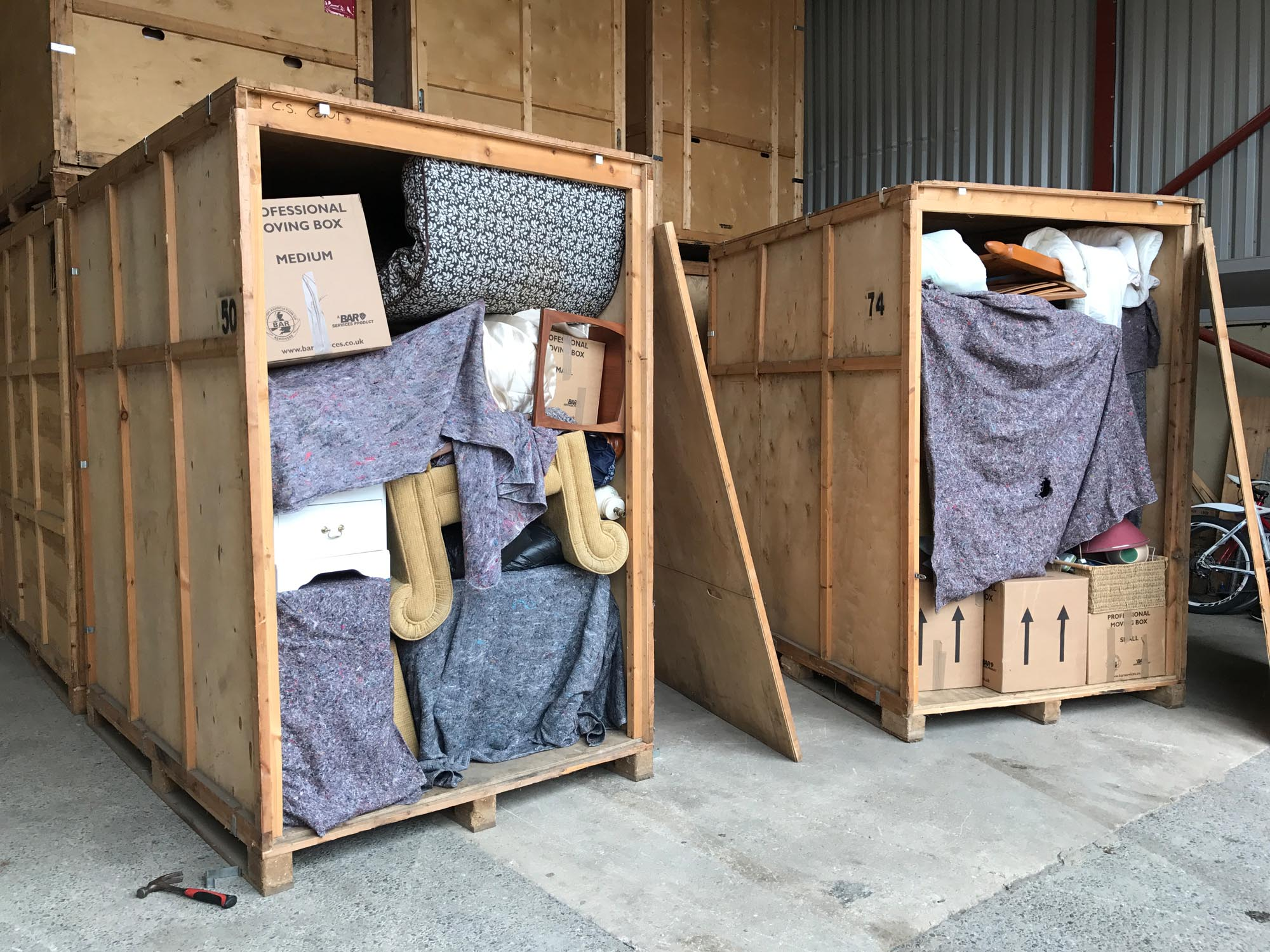 Safe and secure storage containers