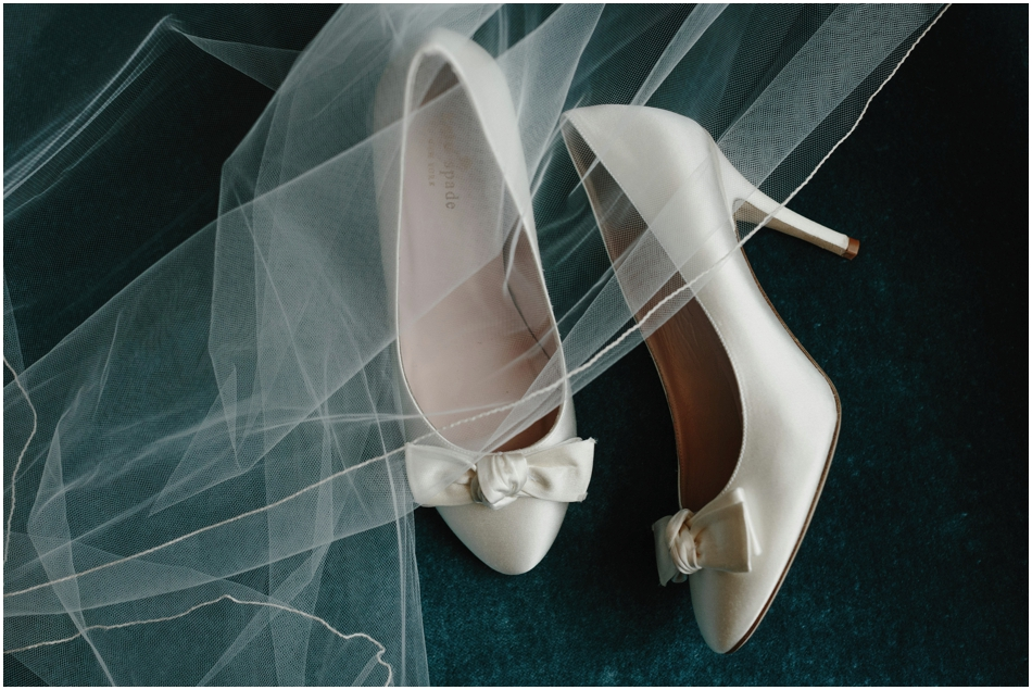 Silk Wedding Heals by Kate Spade // Sidney Morgan