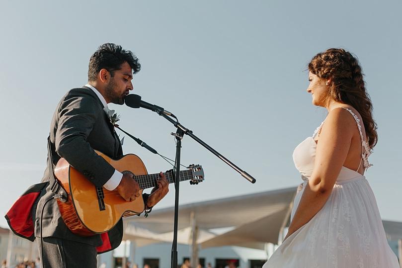 Rockaway New York Beach Wedding