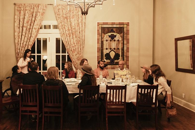 Marfa Texas Wedding Reception