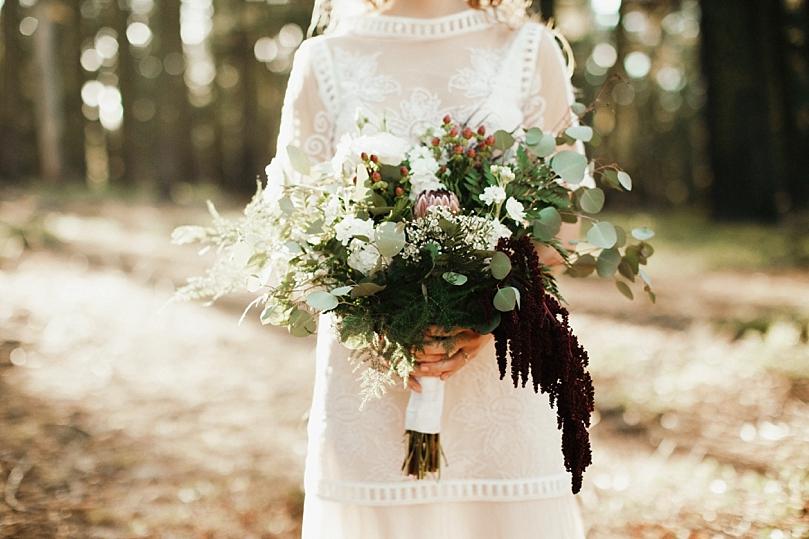 Floranthropist Wedding Bouquet Redding - Sidney Morgan