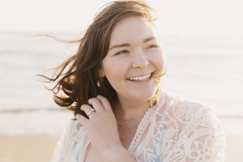 Ocean Beach San Francisco Engagement Session by Sidney Morgan
