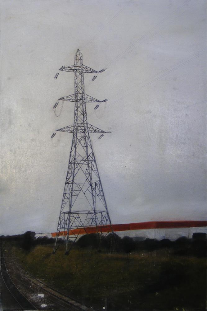 Edgeland 3   2012, oil on linen  50 x 76 cm