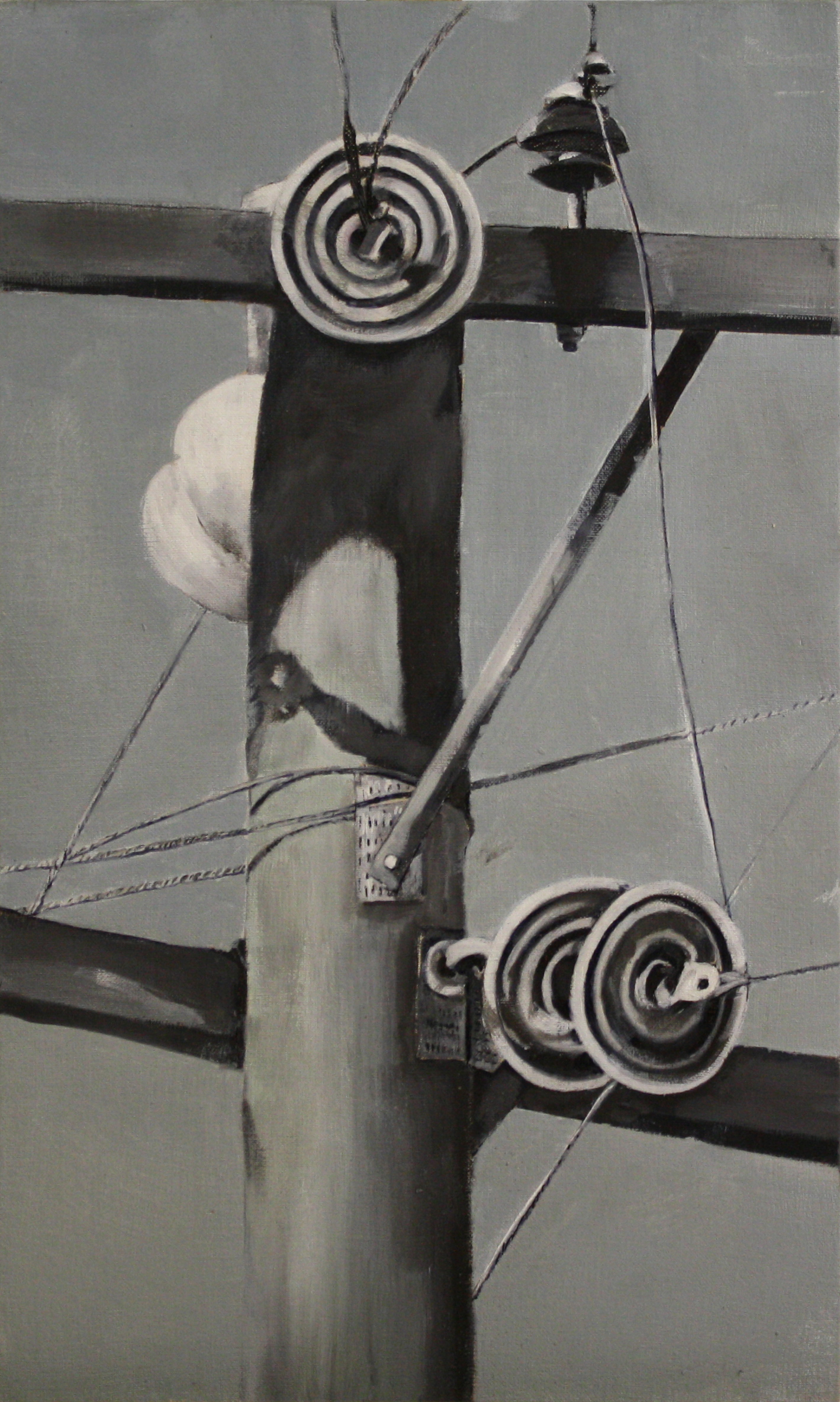 Components:  17774   2011,oil on canvas on hardboard  50 x 76 cm
