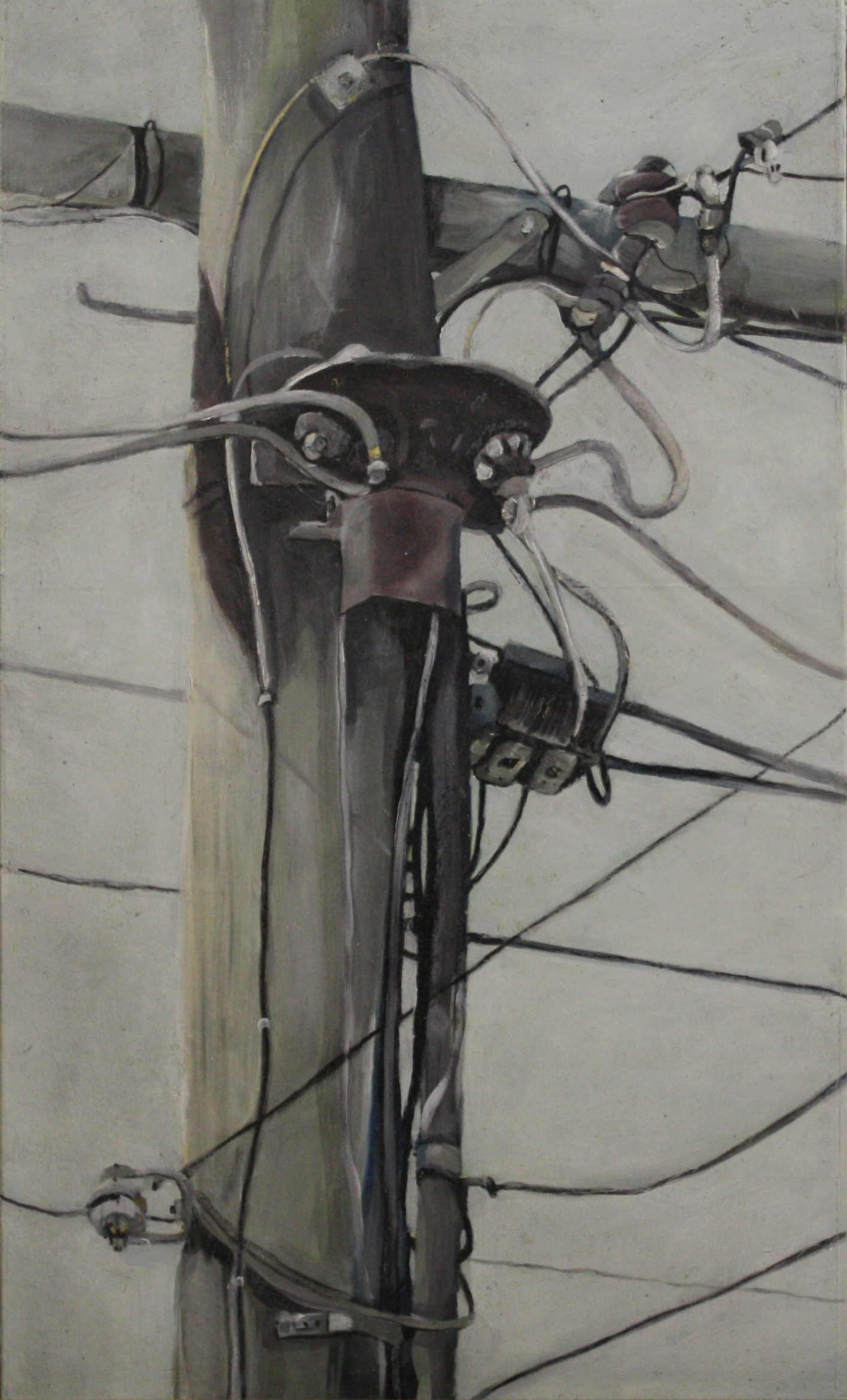 Components:  24712   2011,oil on canvas on hardboard  50 x 76 cm
