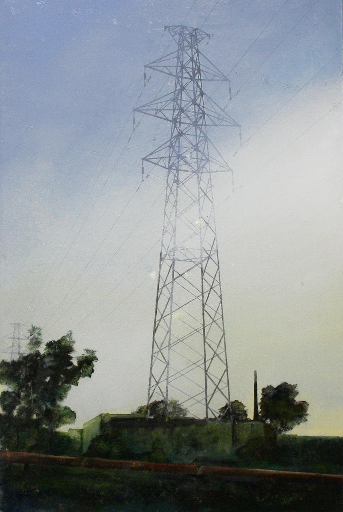 Edgeland 1   2012, oil on linen  50 x 76 cm