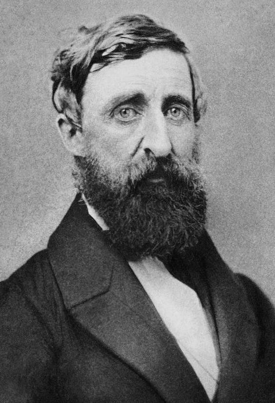 E. S. Dunshee: H. D. Thoreau, Dunshee ambrotype, 1861