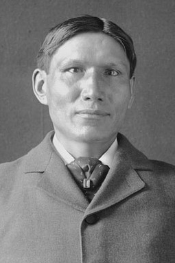 Portrait of Ohiyesa, or Dr. Charles Eastman Smithsonian gn 03462a.jpg,