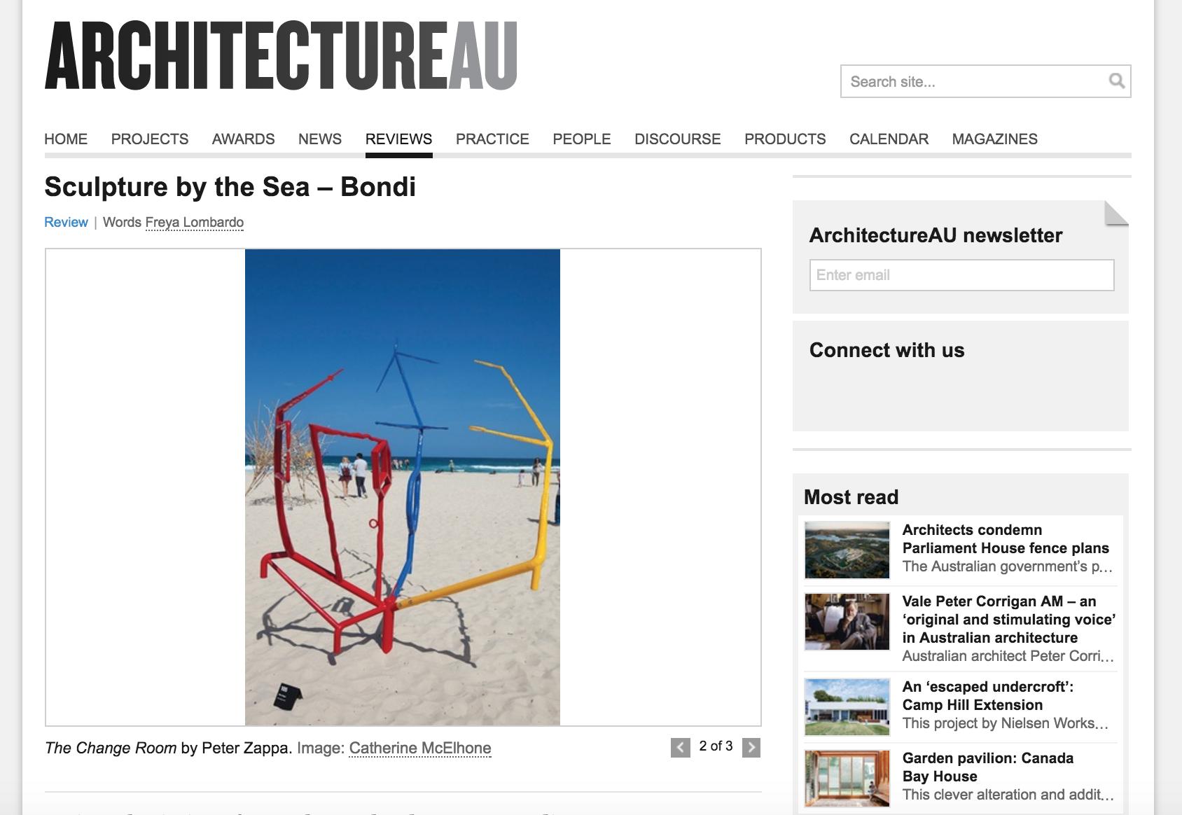 Architecture AU, Sculpture By The Sea