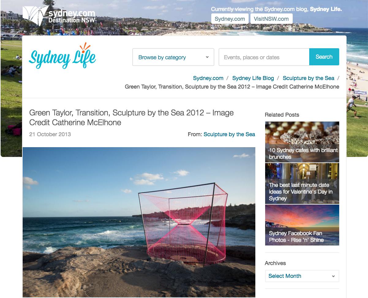 Sydney.com Destination NSW, Sculpture By The Sea