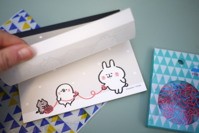 """Kanahei notebook. The cover says, """"we are connected"""". A nice message for this first box! Photo credit:  All Things Stationery"""