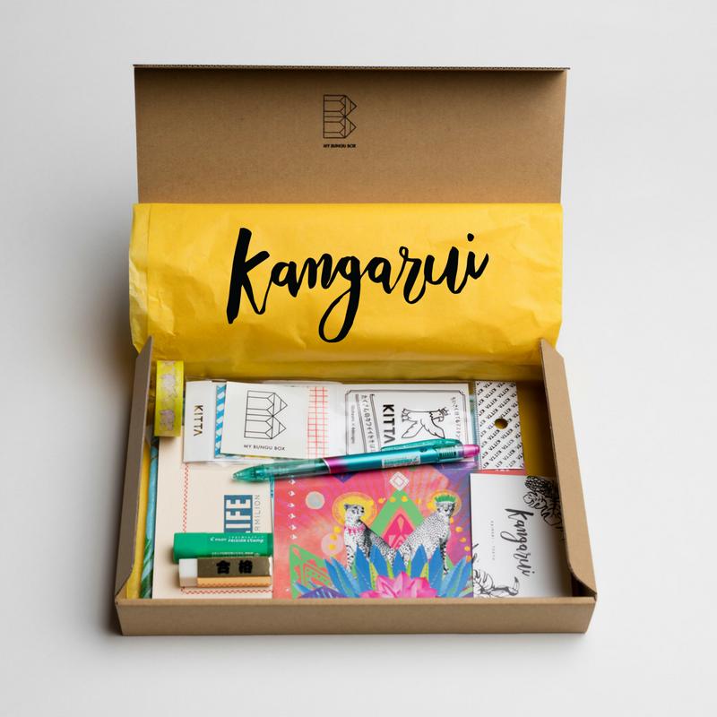 My Bungu Box X Kangarui collaboration