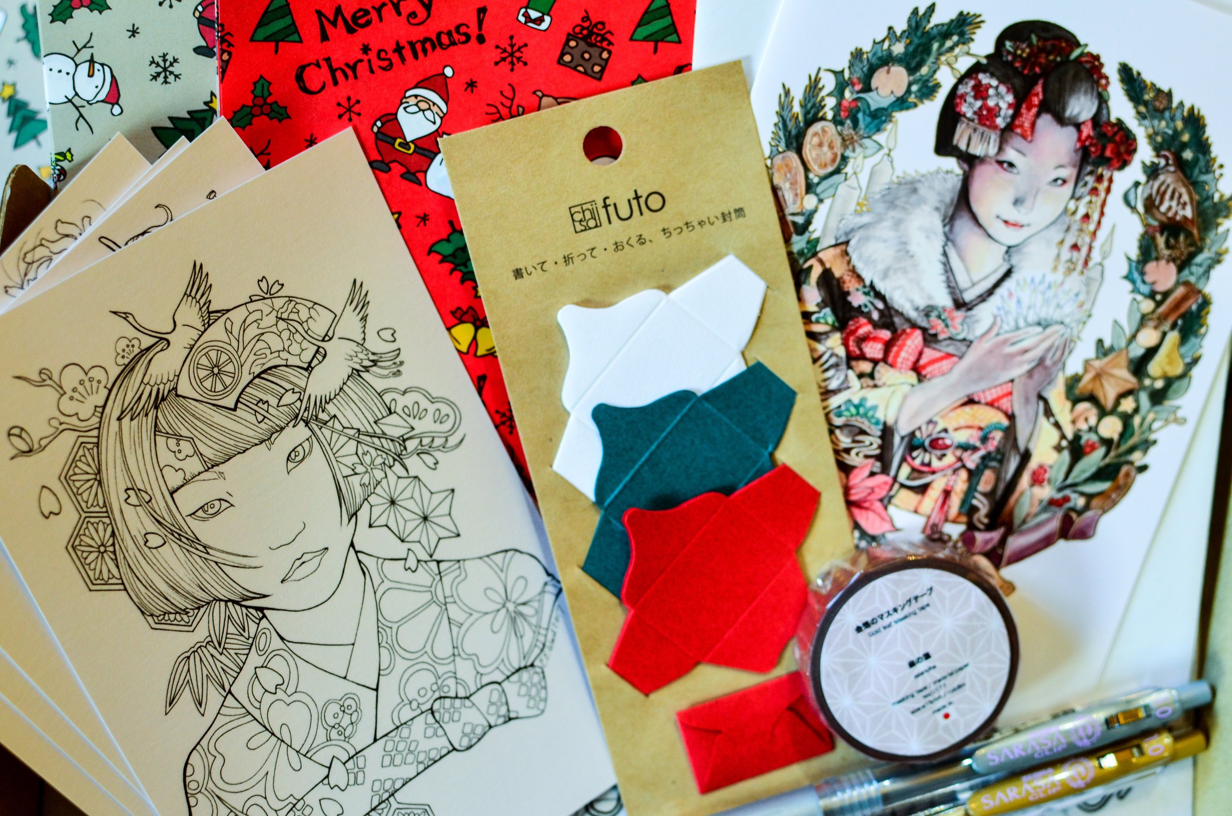 Erica Ward Illustration x My Bungu Box