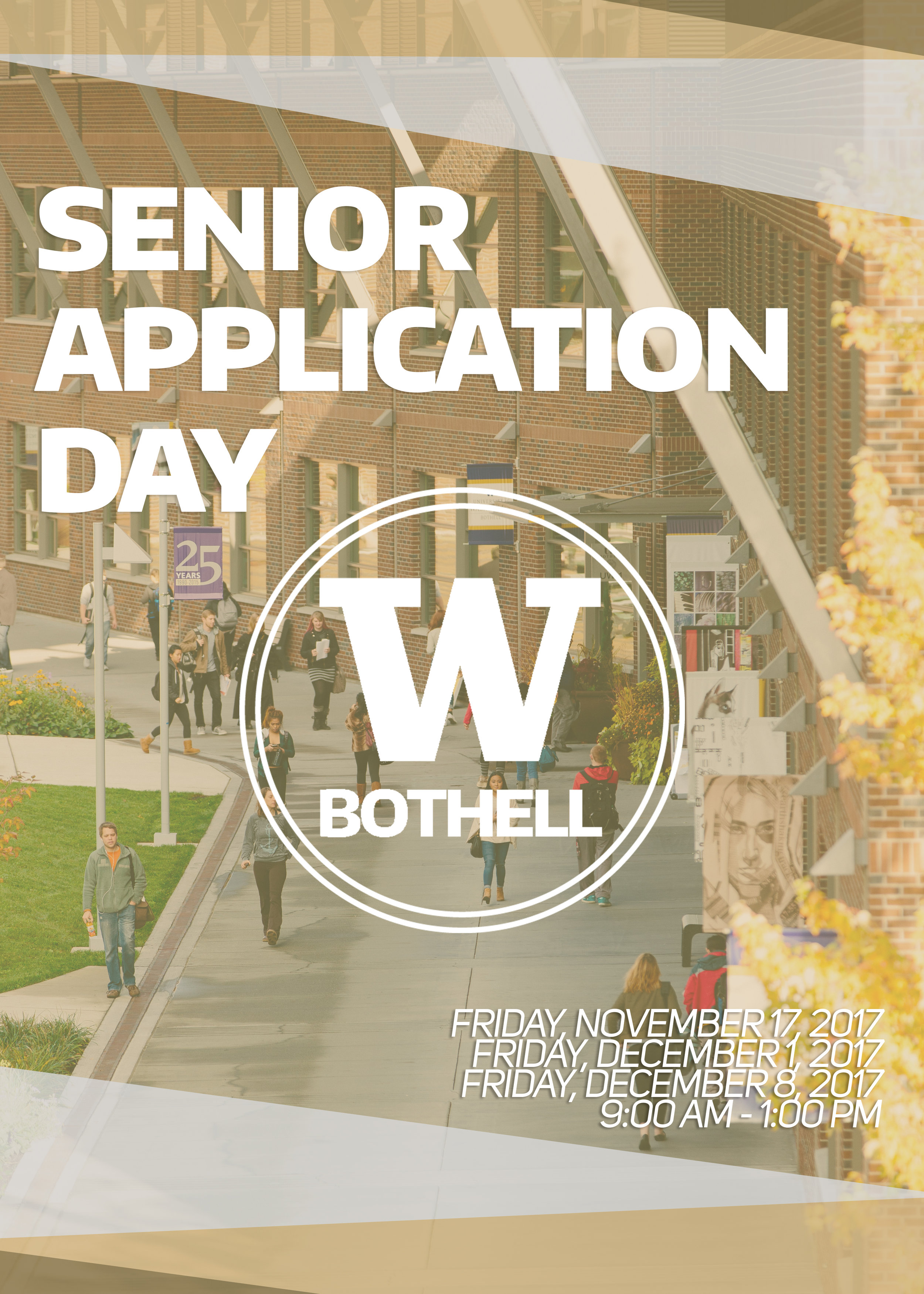 Senior Application Day Flyer (Front)