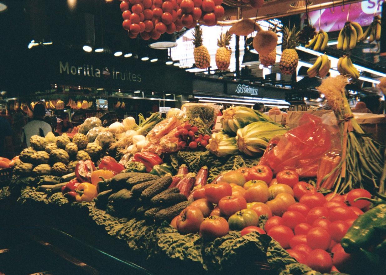 Mercado de La Boqueria - Barcelona, Spain