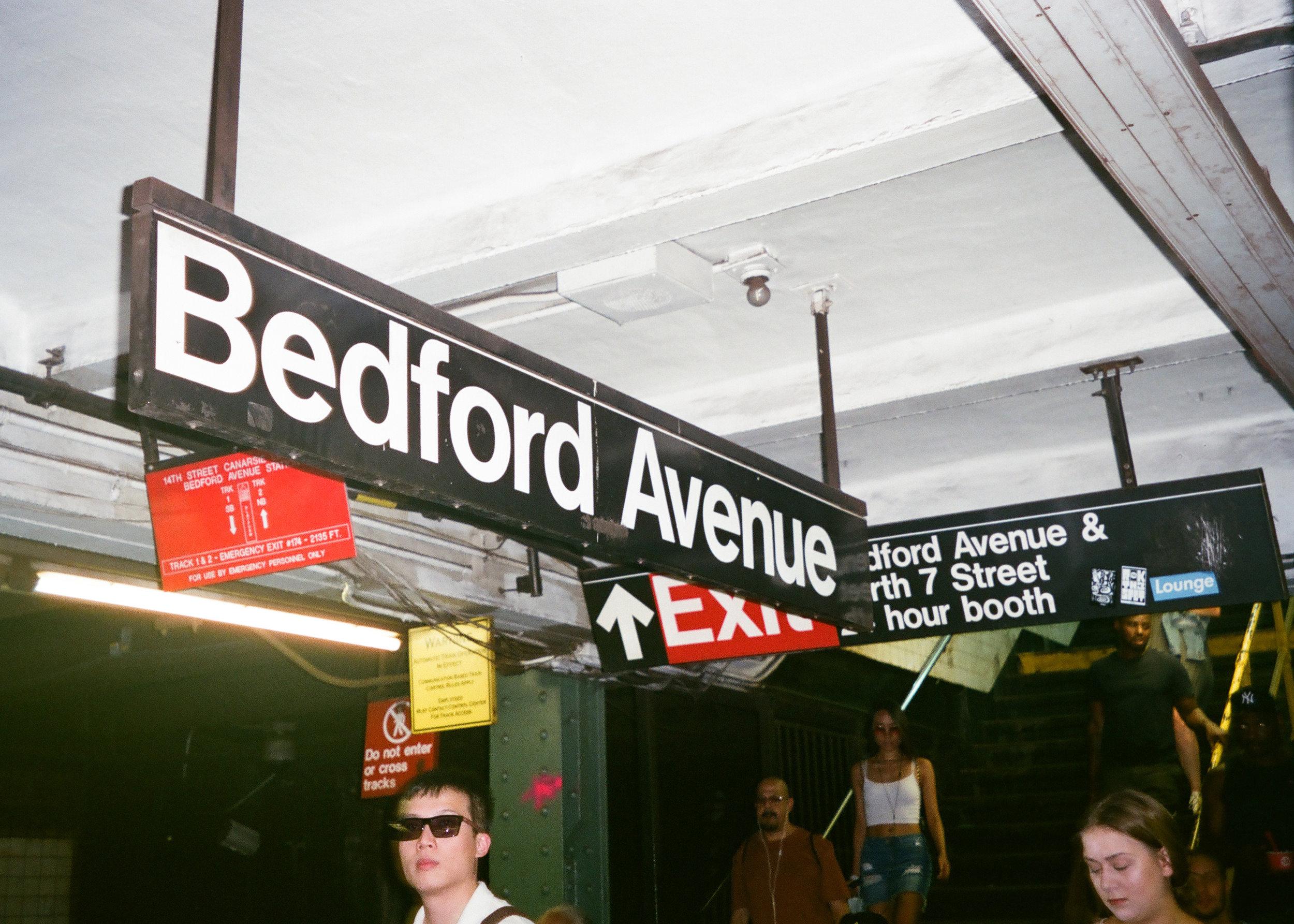 Bedford Ave Subway Station - Brooklyn, NY