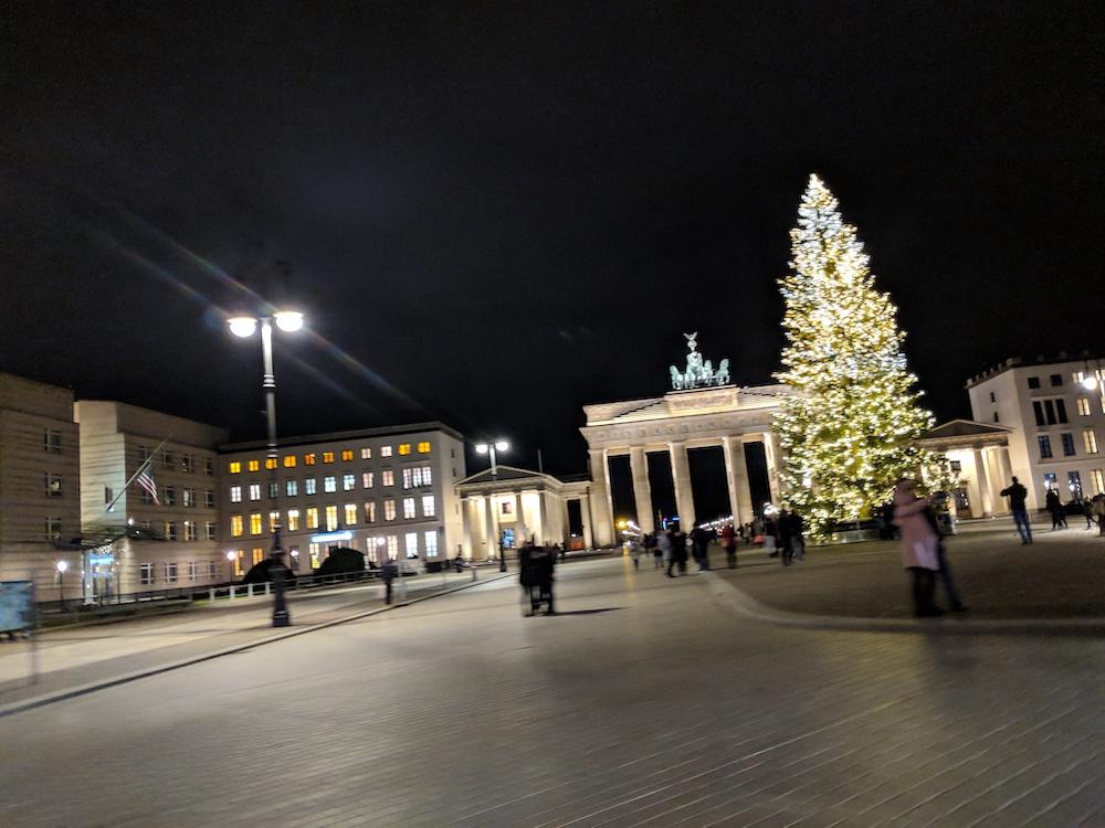 Brandenburg Gate XMas 2018