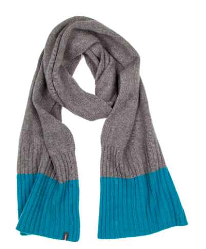 FINISTERRE Blazey scarf. Perfect for wrapping up against biting winds, knitted from a premium 100% Extra Fine wool for extra softness and warmth. £50.00