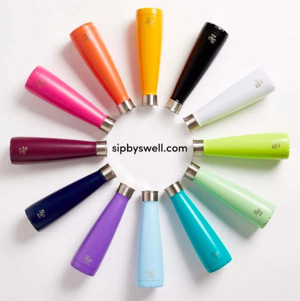 S'ip by S'well can be bought in the UK through  Amazon . Prices vary according to the design  (We have no commercial agreement with the named products in this article).
