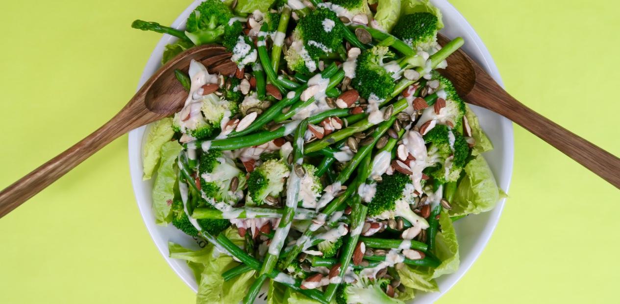 Broccoli And Green Bean Salad Recipe