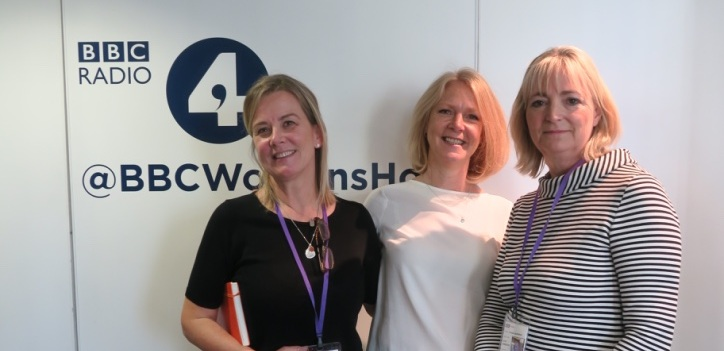 Kathy Abernethy with Positive Pause, BBC R4 Woman's Hour, World Menopause Day 2018