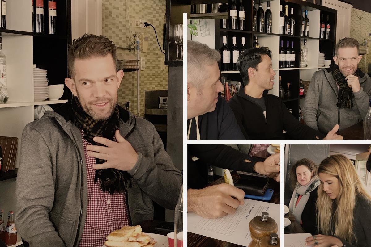 The inaugural Freckfast was hosted by Senior Designer, Luke McConaghey. Thanks Luke!