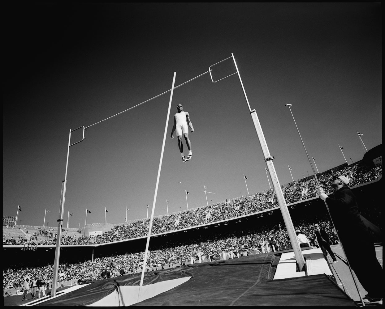 Pole vault, Trials, Pennsylvania, April 1996