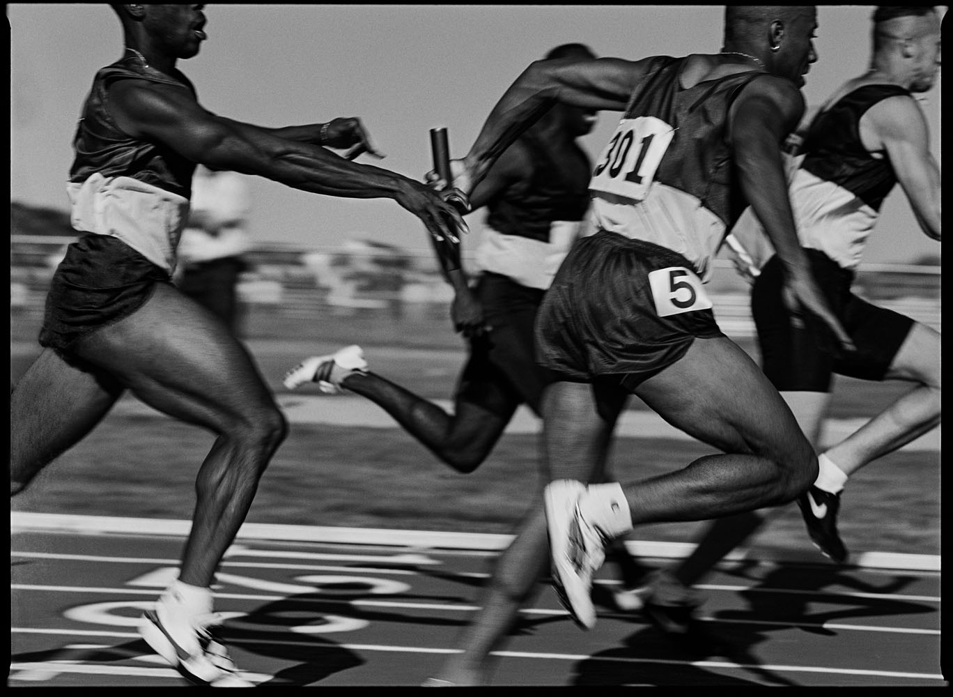 4x100m relay, Trials, Colorado, July 1995