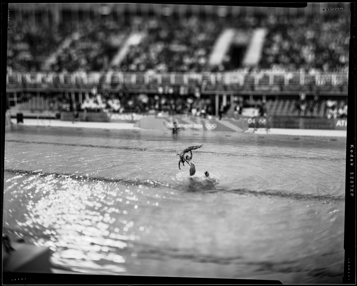 Synchronized swimming, Athens, August 2004