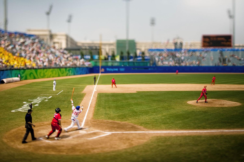 Baseball, Beijing, August 2008