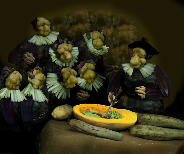 The Anatomy Lesson of Dr. Pickled Cabbage