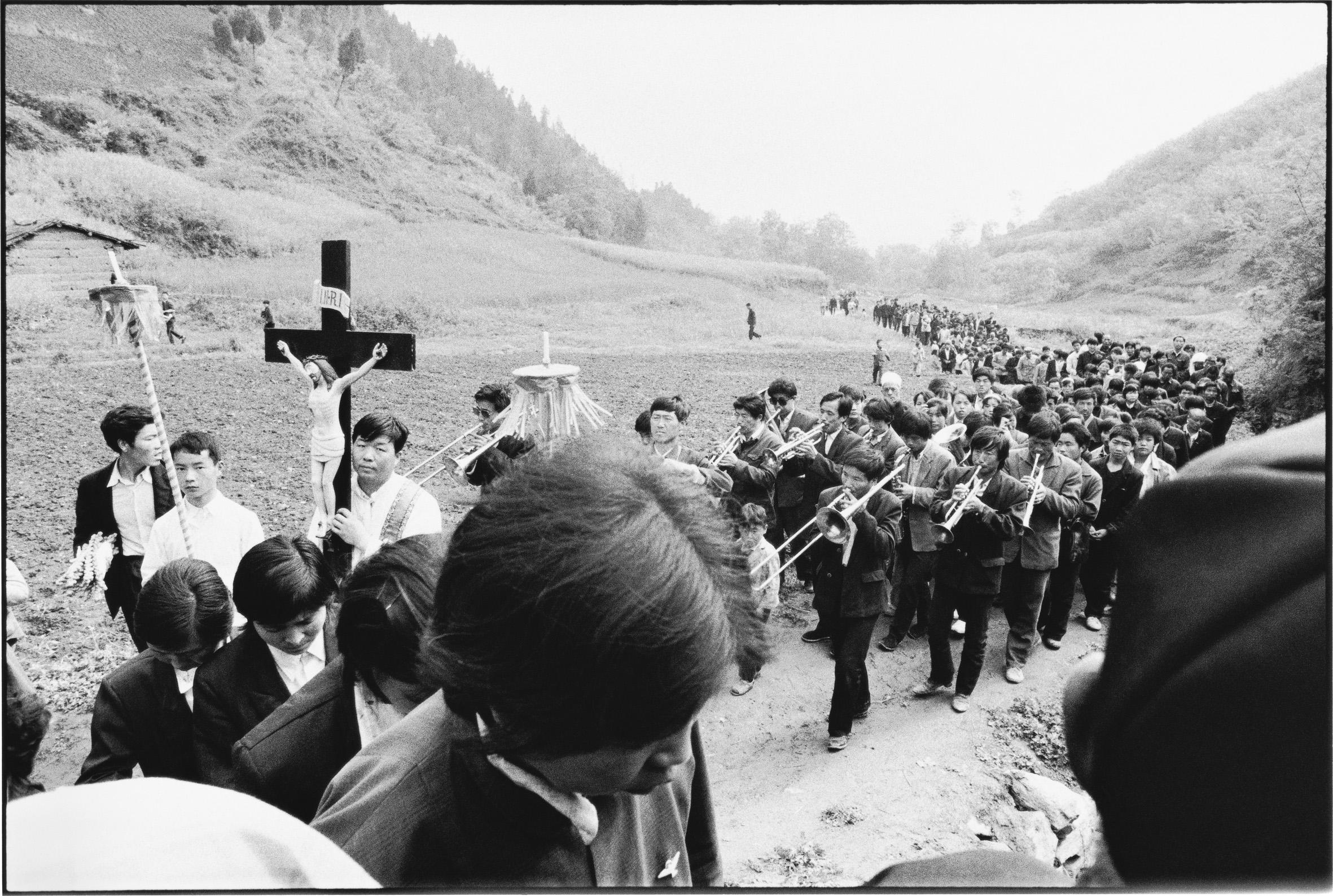 Worshippers, Shanxi, China