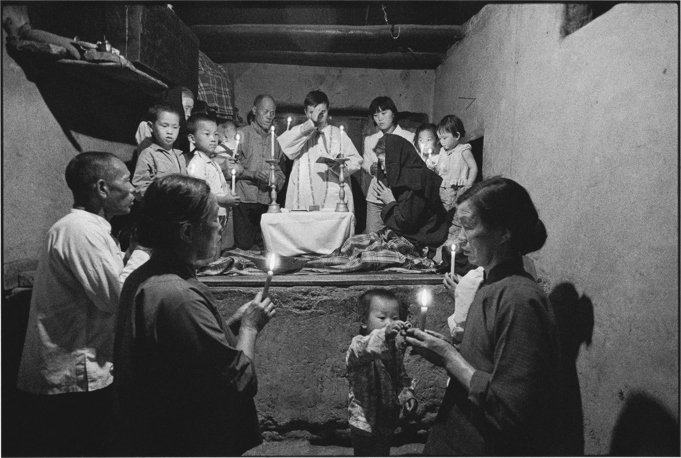 Holy Communion, Shaanxi, China