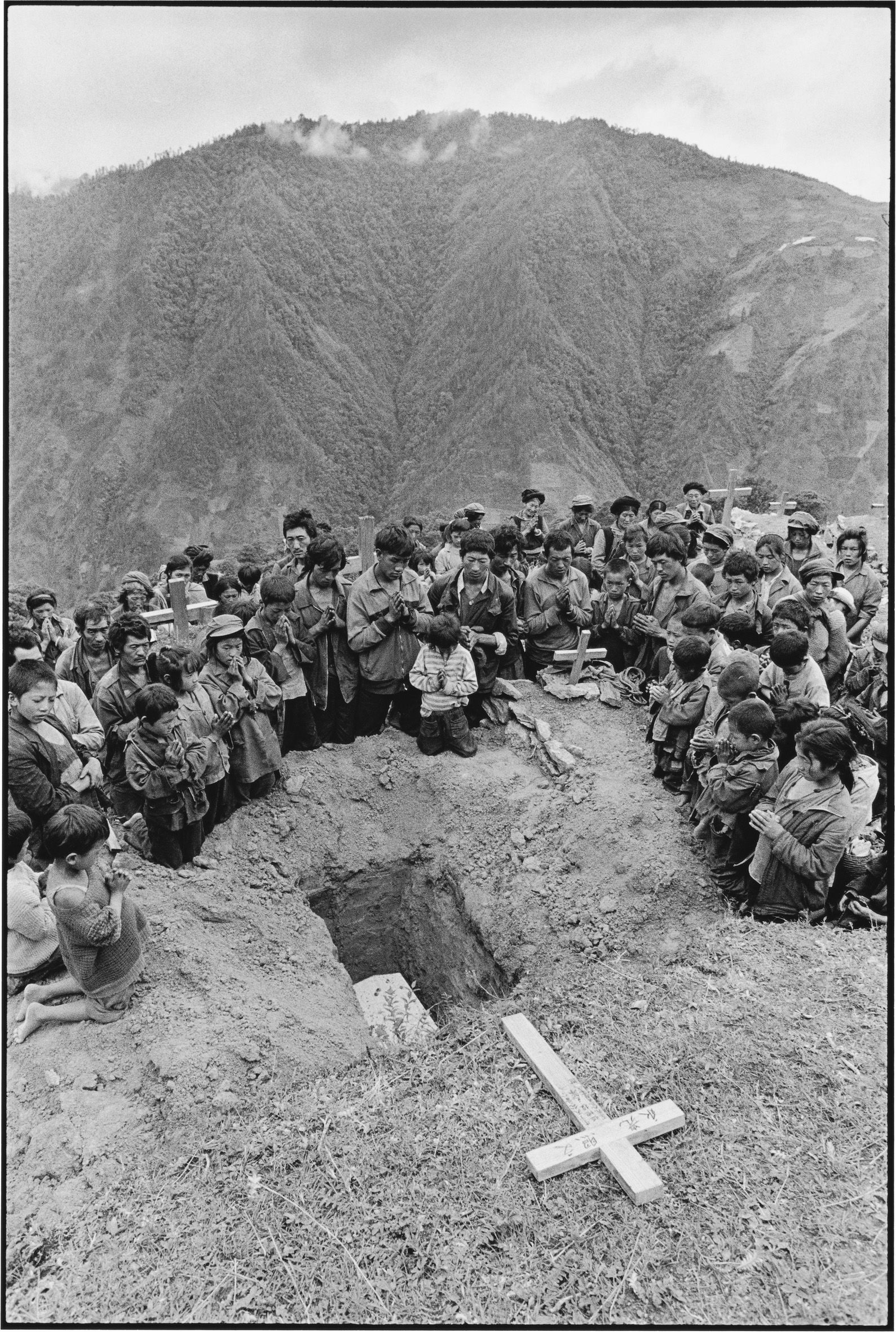 A Child's Funeral, Yunnan, China