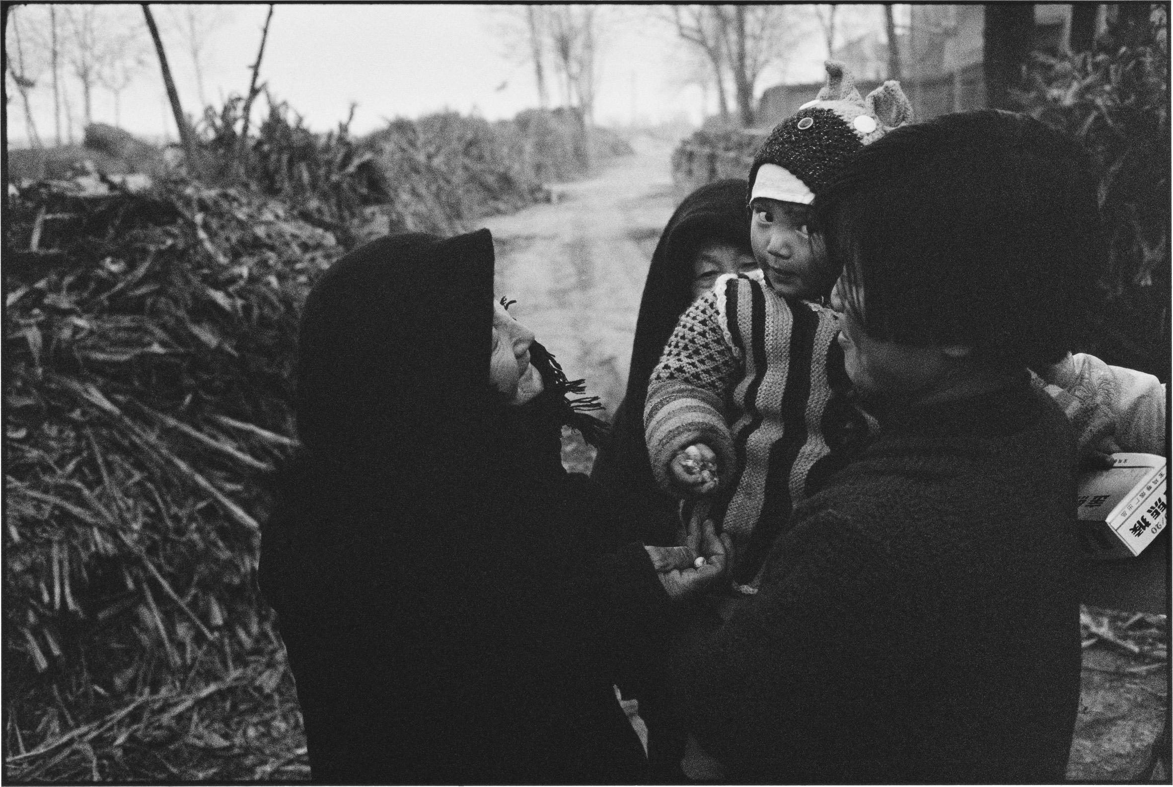 Three Women and a Child, Shaanxi, China
