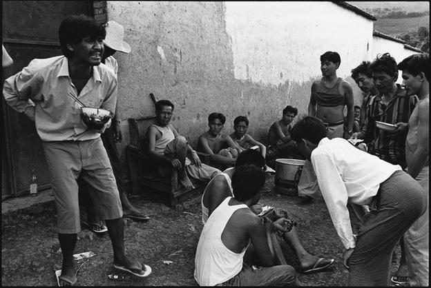 Prisoners Arguing