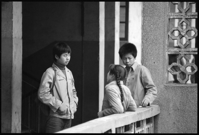 Zhuzhou High School, Hunan Province, March 1986