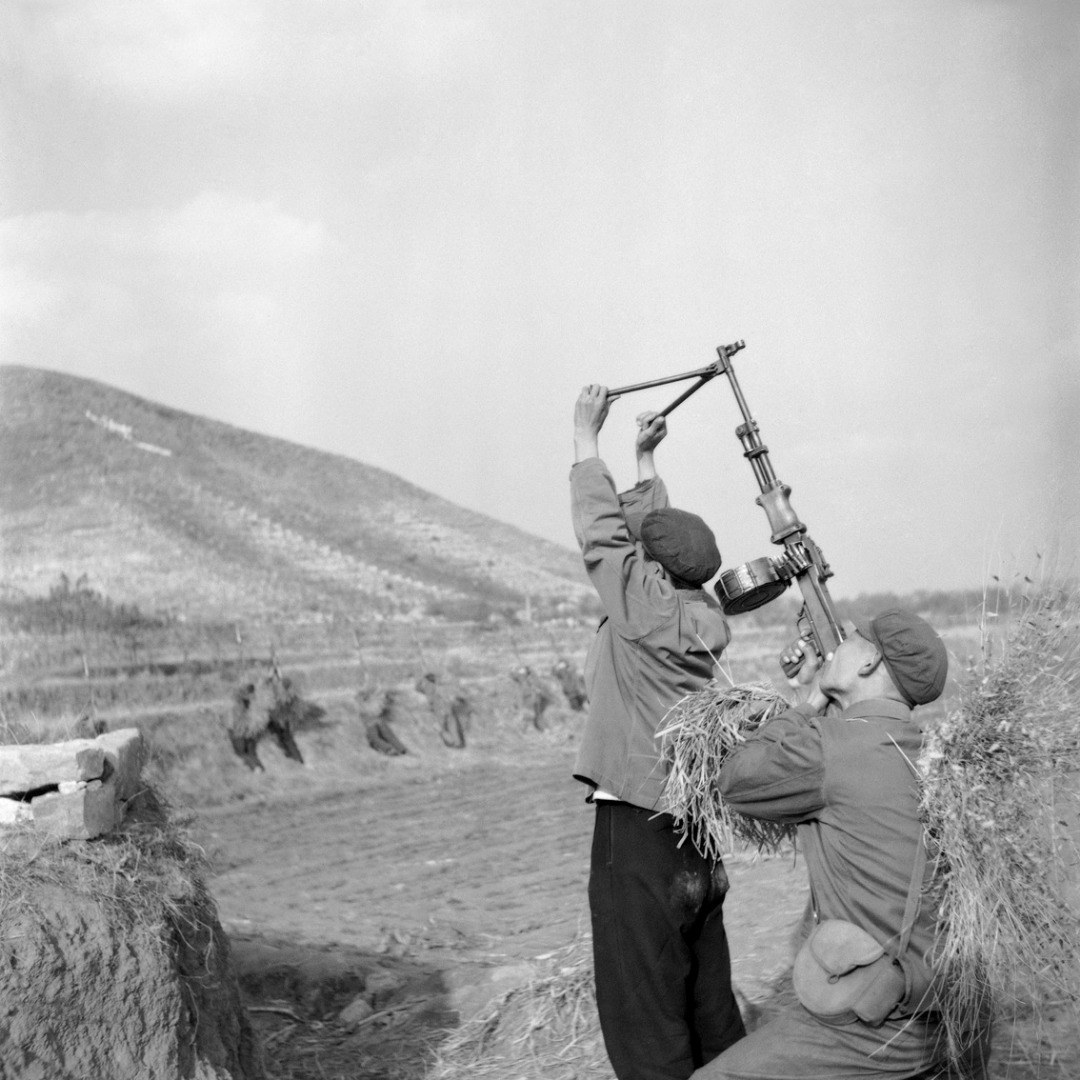 A Ground-to-Air Shooting Exercise