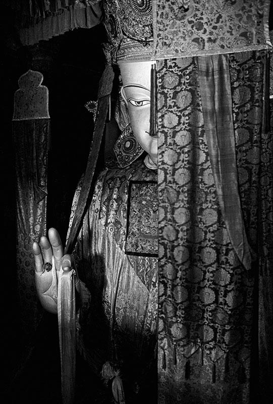 The Qiangba Buddha, Tibet