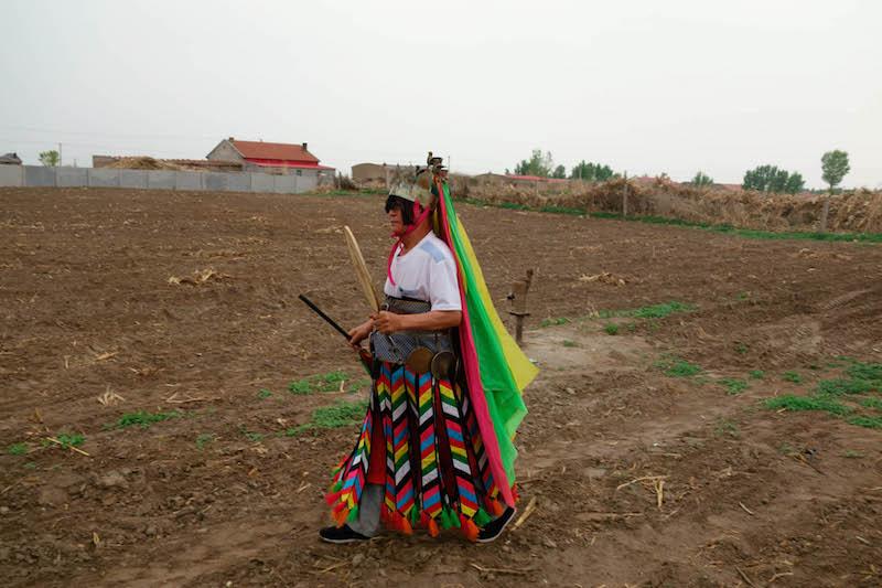 Dai Baigula (Mongolian) - Shaman of Khorchin