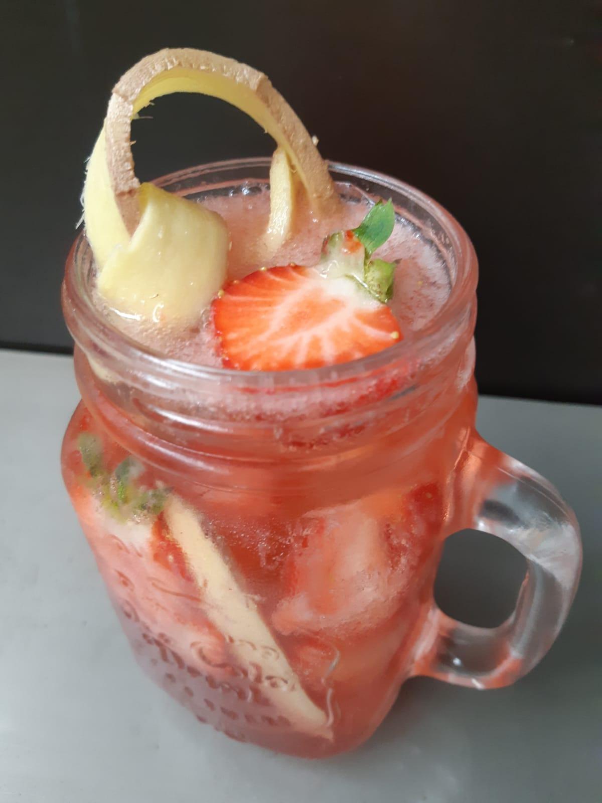 Strawberry Rhubarb Smash cocktail 1.JPG