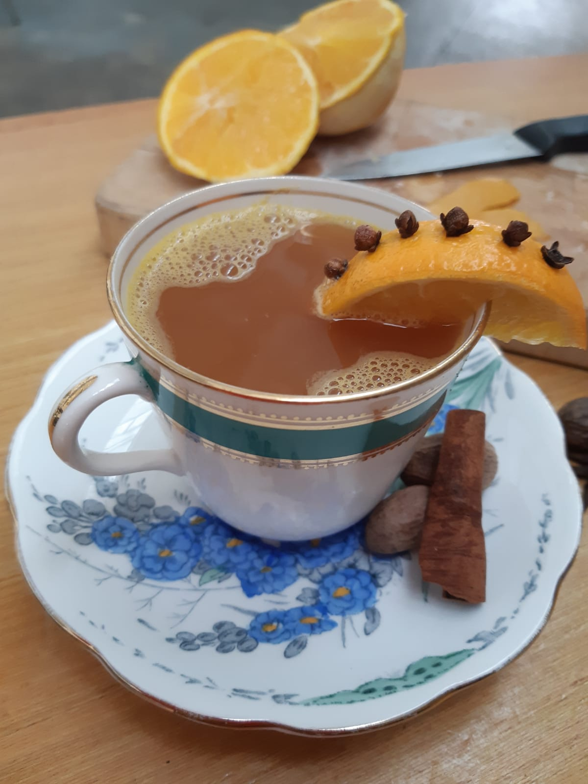 Hot Gin Punch   Using Mother's Ruin Old Tom Gin