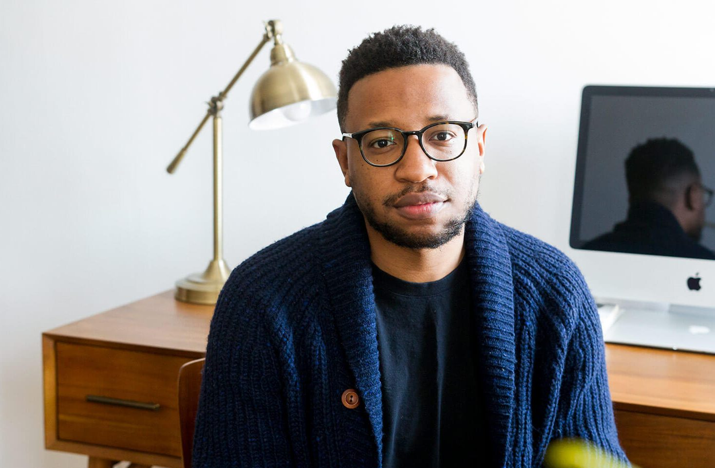 Vinson Cunningham, Culture, Too 2019 Director of Programming . Photo credit: Jane Bruce.
