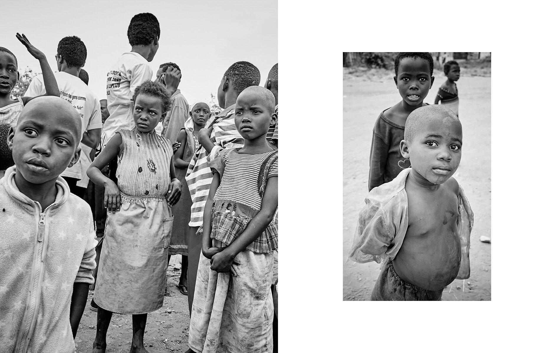 Lusenda refugee camp, DR Congo  2016