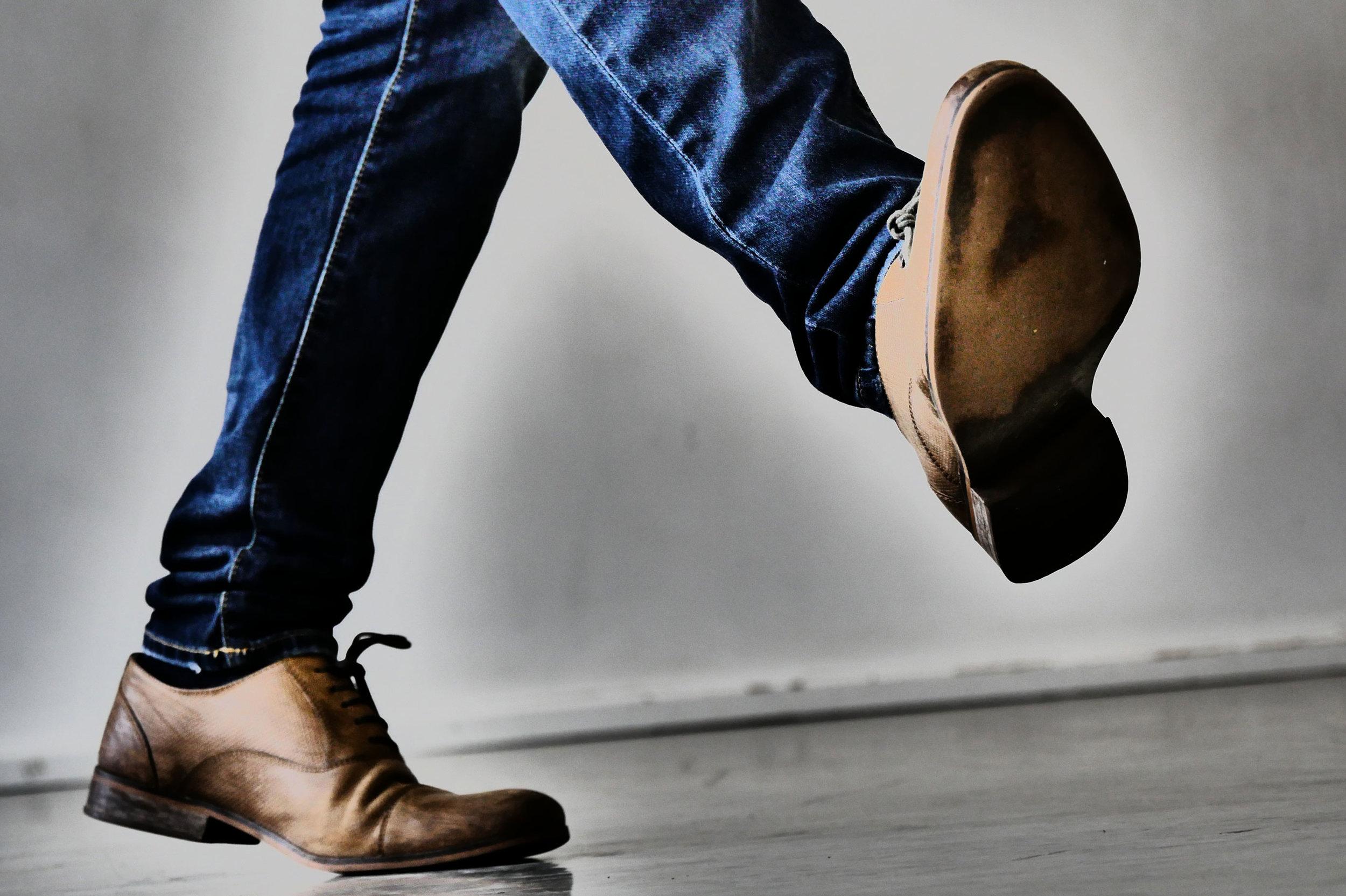Old Style Irish Step -