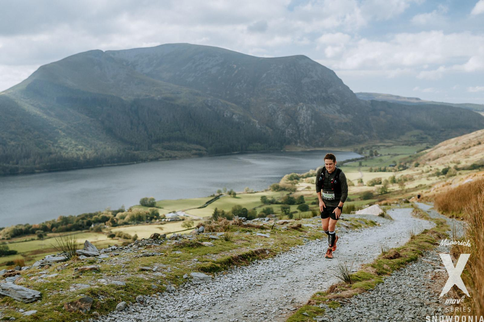 PC In Snowdon - PC ran the Maverick X-Series Snowdonia Marathon with us last year. Luckily this photo isn't of him going through the bog where many tears were shed.